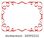 beautiful holiday color ribbons....   Shutterstock .eps vector #33592213
