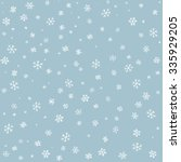 Snowflake On Winter Gray Sky...