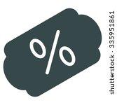 discount label vector icon.... | Shutterstock .eps vector #335951861