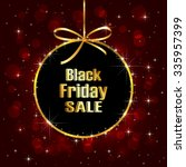 black friday sale background... | Shutterstock . vector #335957399