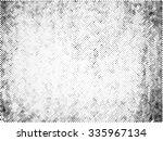 grunge halftone vector ... | Shutterstock .eps vector #335967134
