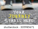 image with selective focus over ... | Shutterstock . vector #335985671