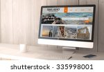 digital render generated... | Shutterstock . vector #335998001