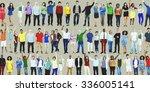 people diversity success... | Shutterstock . vector #336005141
