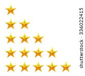 rating stars set. web or mobile ...