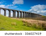 famous ribblehead viaduct in... | Shutterstock . vector #336027419