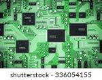 shot of integrated circuit... | Shutterstock . vector #336054155