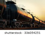 transportation tank cars with... | Shutterstock . vector #336054251