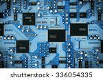 Shot Of Integrated Circuit...