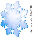 blue glass or ice  winter... | Shutterstock . vector #3360710