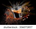 coffee splash | Shutterstock . vector #336072857