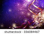 party background with lights... | Shutterstock . vector #336084467
