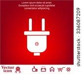 power energy symbol | Shutterstock .eps vector #336087209