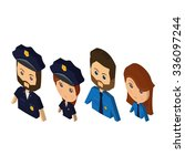 set of people with different...   Shutterstock .eps vector #336097244