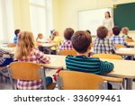 education  elementary school ... | Shutterstock . vector #336099461