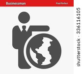 businessman icon. professional  ... | Shutterstock .eps vector #336116105
