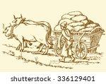 chumak is historic occupation...   Shutterstock .eps vector #336129401