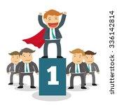 success people cartoon design ... | Shutterstock .eps vector #336142814