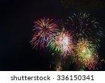 Fireworks Light Up The Sky Wit...