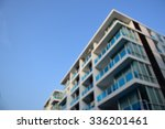 blur picture of building. | Shutterstock . vector #336201461