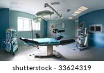 operating room in a hospital | Shutterstock . vector #33624319