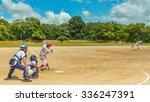 baseball boys   Shutterstock . vector #336247391