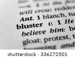 Small photo of Bluster