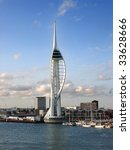 the spinnaker tower and...