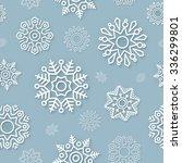 abstract christmas seamless... | Shutterstock . vector #336299801