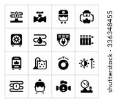set icons of heating isolated...   Shutterstock .eps vector #336348455