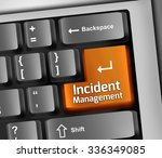 keyboard illustration with... | Shutterstock . vector #336349085