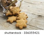 Christmas Cookies In Star Shape ...