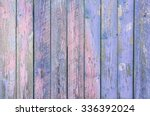 Indigo Blue  Wooden Planks...