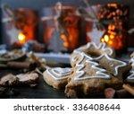 christmas cookies | Shutterstock . vector #336408644