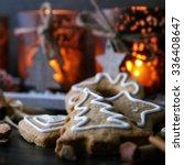 christmas cookies | Shutterstock . vector #336408647