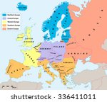 Main European Regions Map. All...