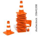 3d Illustration Of Orange ...
