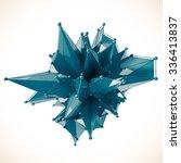 structure 3d render computer...   Shutterstock . vector #336413837