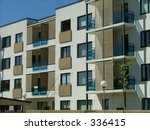 apartment house | Shutterstock . vector #336415