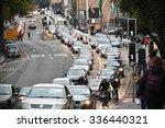 bristol   oct 22  slow moving... | Shutterstock . vector #336440321