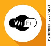 wi fi icon vector | Shutterstock .eps vector #336472595