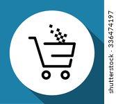vector shopping cart icon | Shutterstock .eps vector #336474197