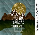 motivational poster message...   Shutterstock .eps vector #336479957