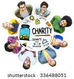 people team togetherness give... | Shutterstock . vector #336488051
