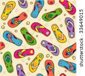 seamless  repeatable  flip... | Shutterstock .eps vector #33649015