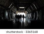 people entering cargo plane | Shutterstock . vector #3365168
