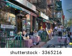 Little Italy In New York City...