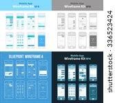 mobile app wireframe ui kit 4....