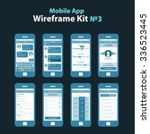 mobile app wireframe ui kit 3....