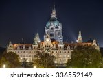 Stock photo new city hall of hannover germany 336552149